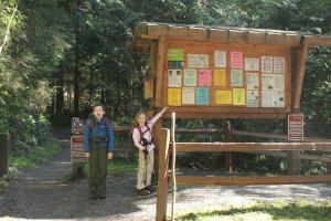 Sourdough mountain, hiking with kids