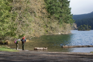 Mountain Lake, Orcas Island, Moran State Park, Hiking with CHildren