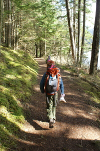 Mountain Lake, Twin Lakes Trail, Orcas Island, Moran State Park, Hiking with Children