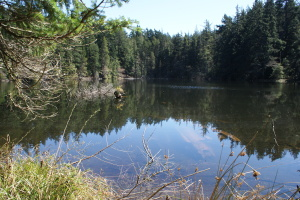 Twin Lakes, Moran State Park, Orcas island, hiking with children