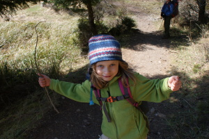hiking with children, Orcas Island, Mountain Lake